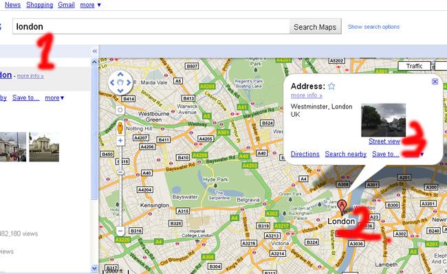 วิธีใช้ google street view    มองทั่วโลกด้วย กูเกิล สตรีท วิว