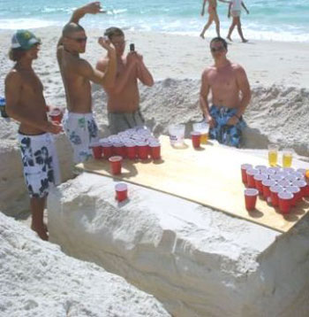 วิธีการเล่น เบียร์ปอง – Beer Pong