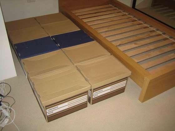วิธีทำเตียงนอนจากกล่องกระดาษ