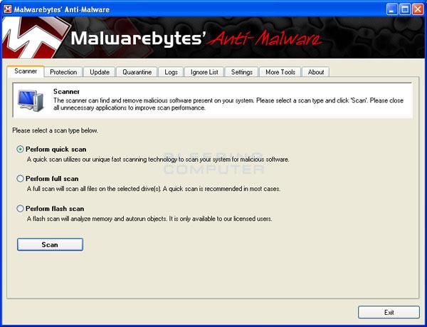 วิธีลบโปรแกรม My Security Shield
